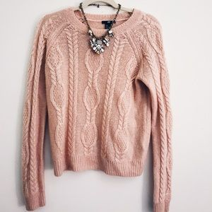 Pink H&M Knitted Sweater